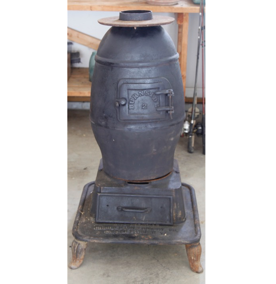 Cast Iron Potbelly Stove : EBTH