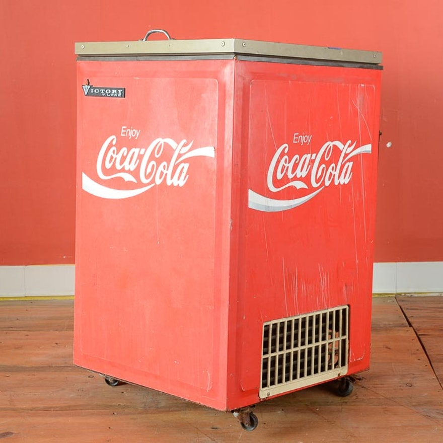Vintage Coca-Cola Store Cooler