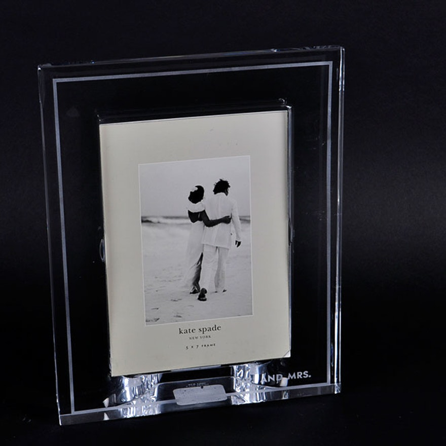 Kate Spade Lenox Crystal Wedding Frame Ebth