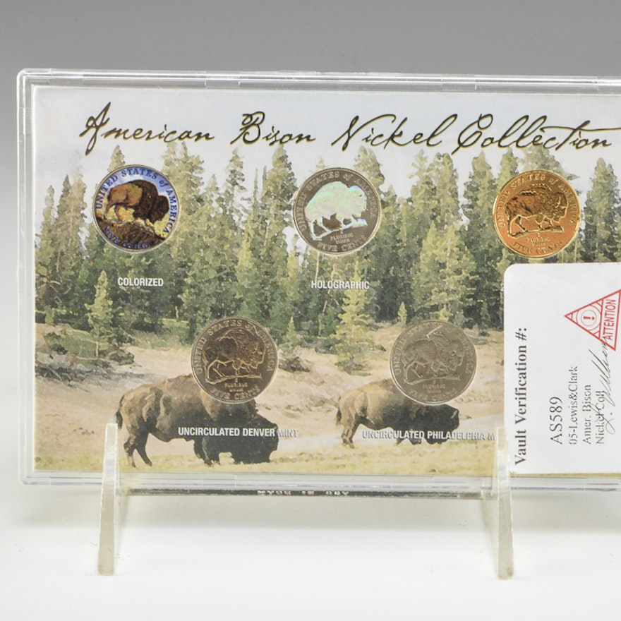 A 2005 American Bison Nickel Collection