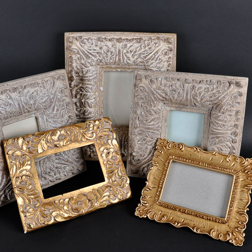 Ornate Plaster Picture Frames Ebth