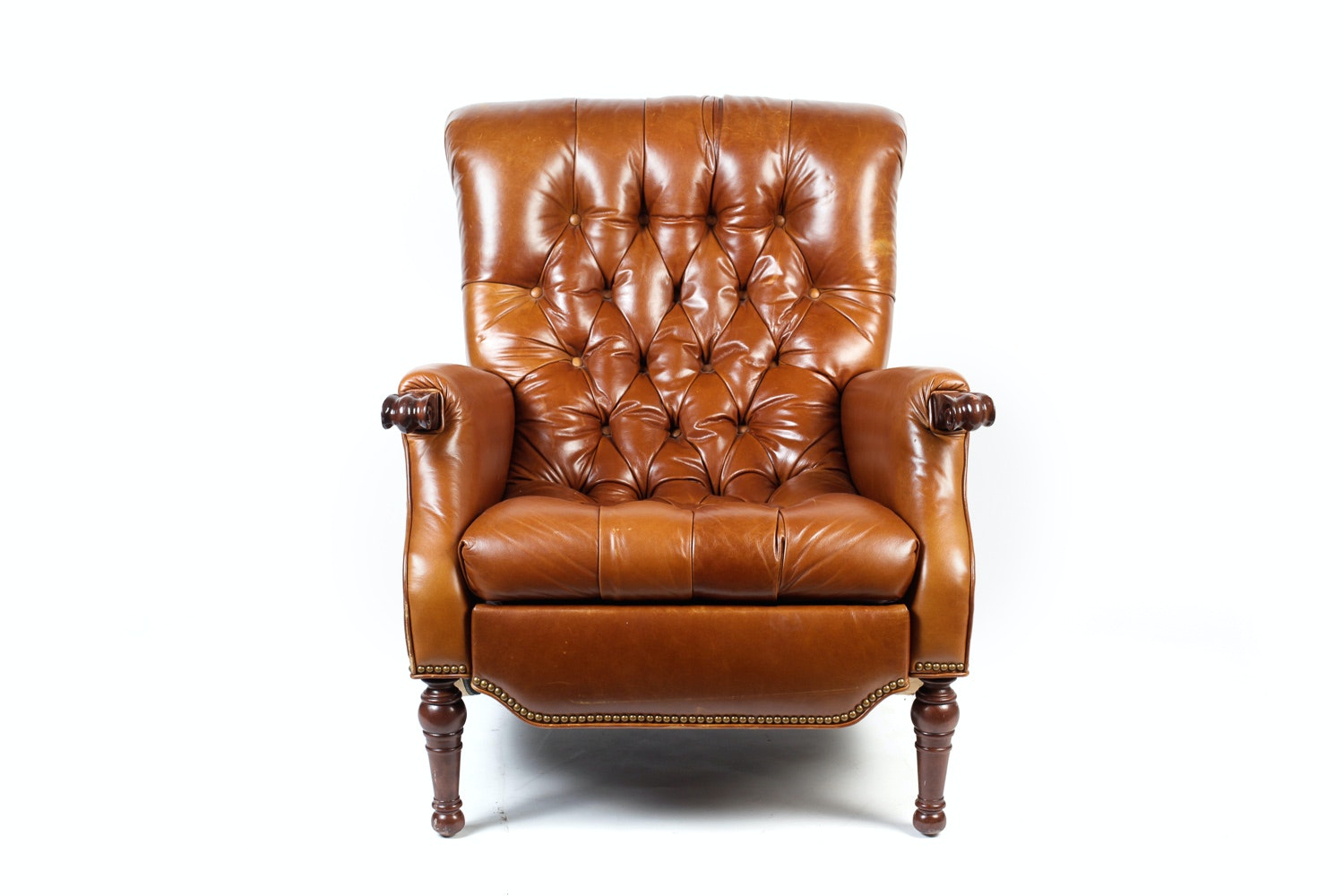 Sherrill Motioncraft Leather Armchair ...