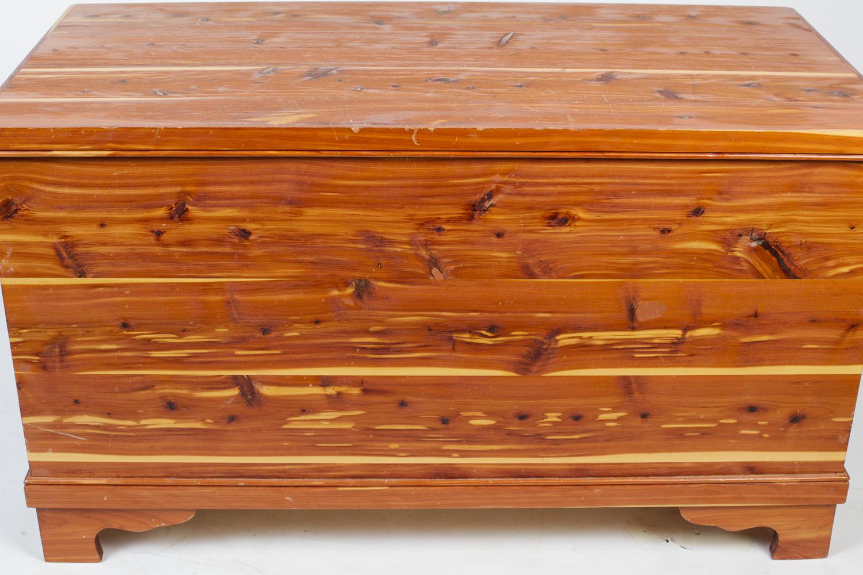 Amish Hand-Made Cedar Chest : EBTH