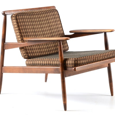 Mid-Century Lounge Chair - Vintage Chairs, Antique Chairs And Retro Chairs Auction In