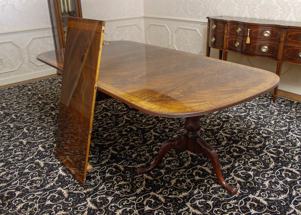 Drexel Heritage Mahogany Dining Table