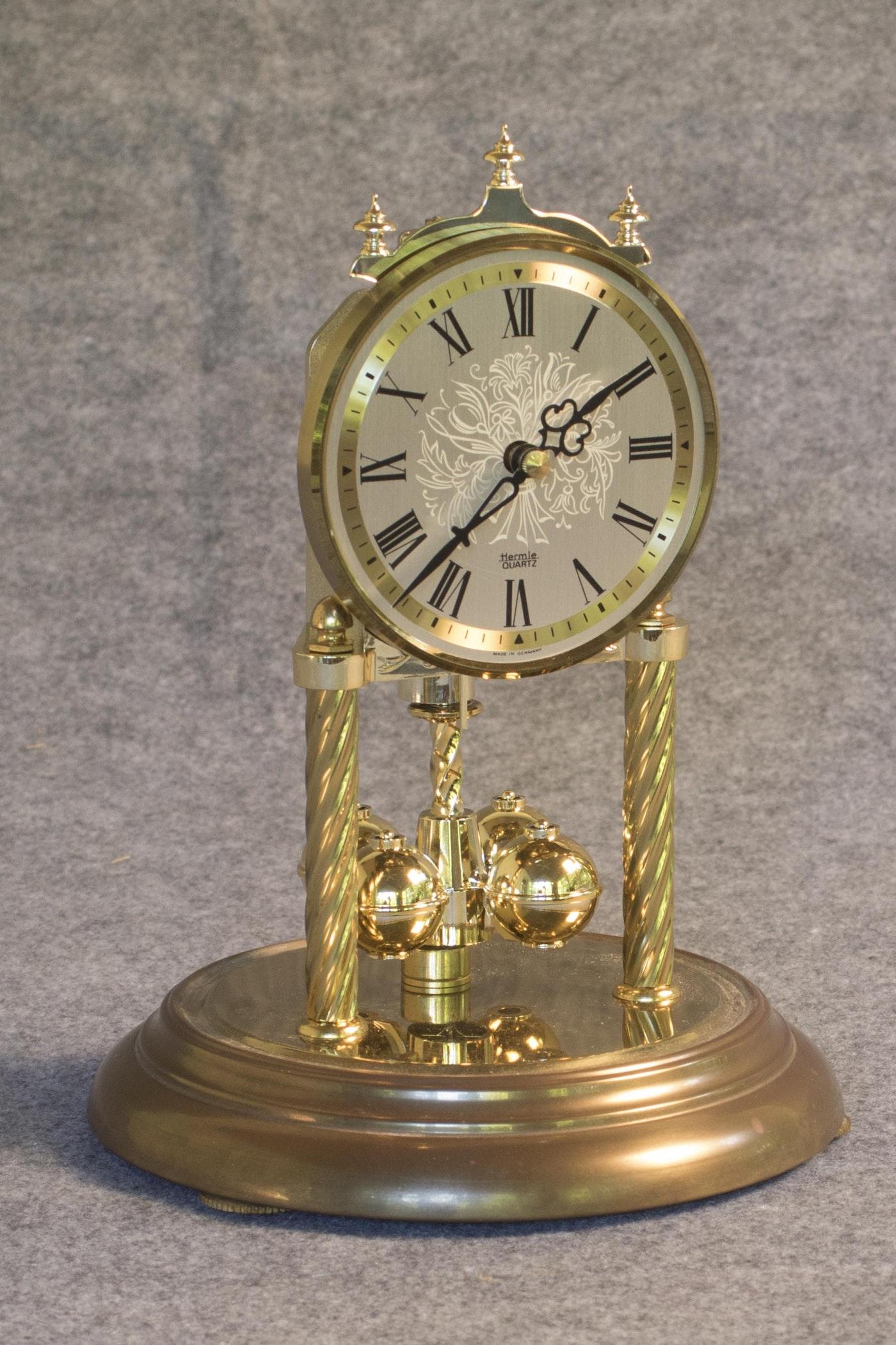 Hermle Anniversary Quartz Clock Ebth