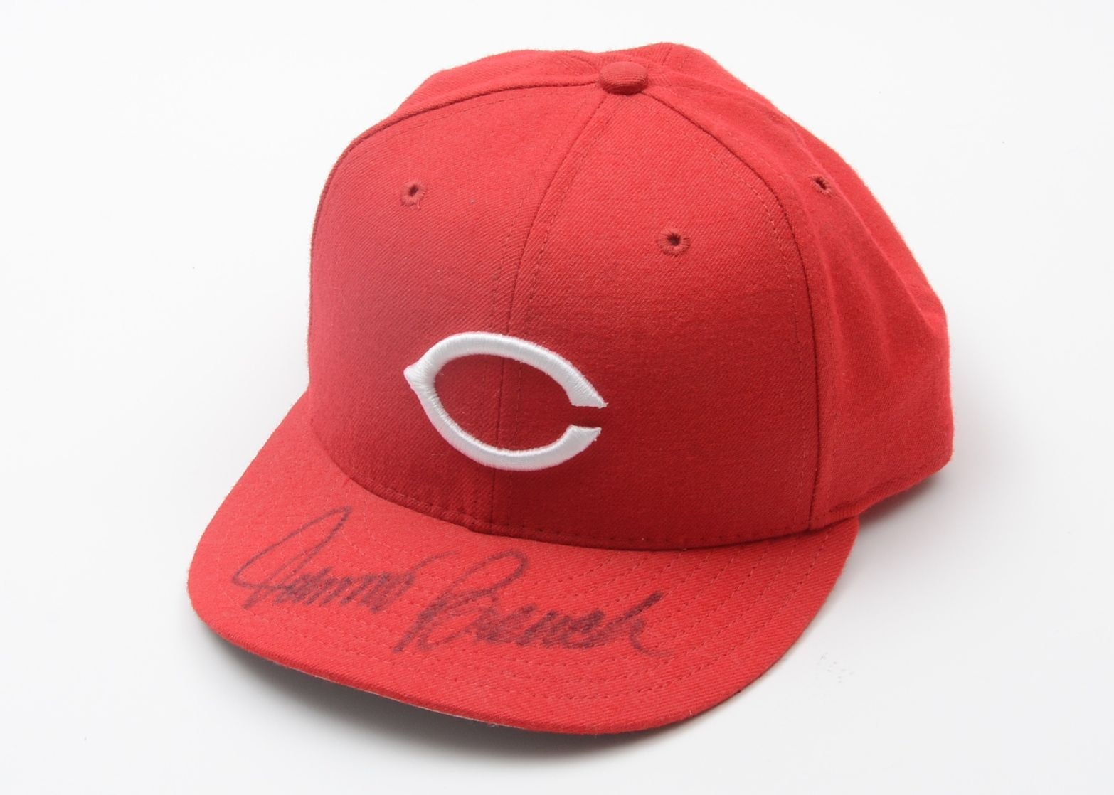 Johnny Bench Autographed Baseball Part - 45: Johnny Bench Autographed Baseball Cap ...