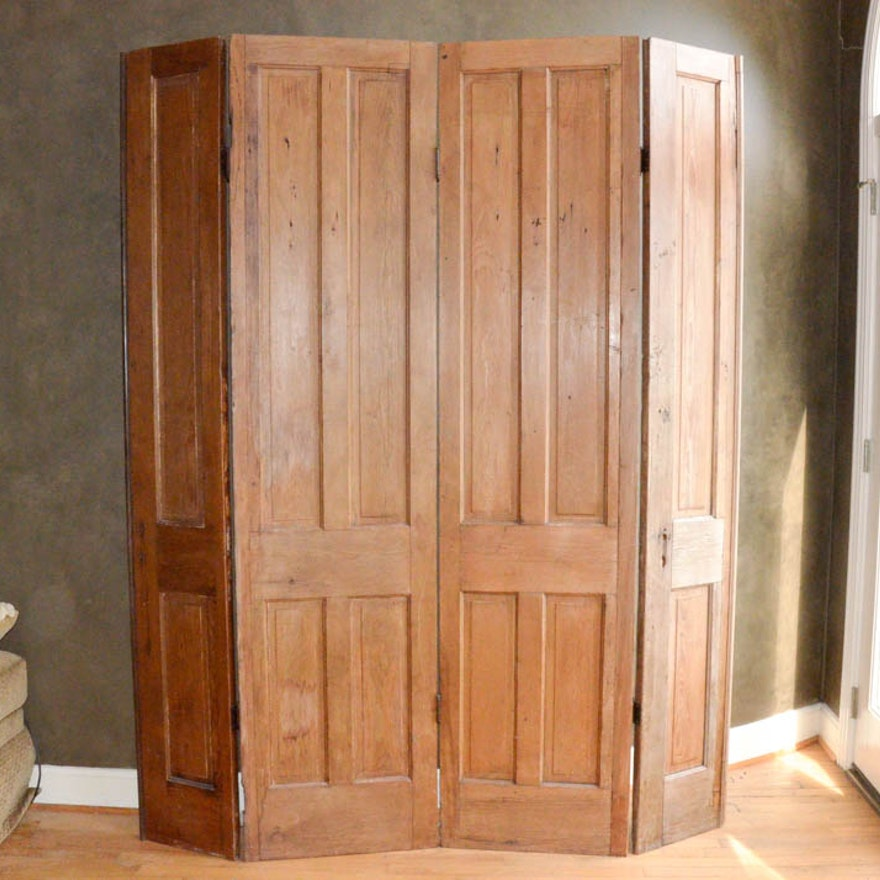 Room Divider, Crafted from Antique Pine Doors ... - Room Divider, Crafted From Antique Pine Doors : EBTH