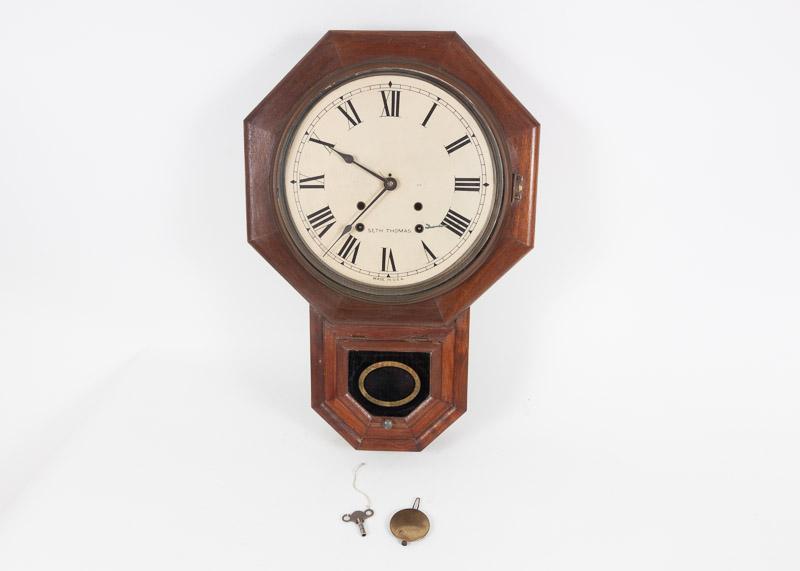 Antique Seth Thomas School House Clock EBTH