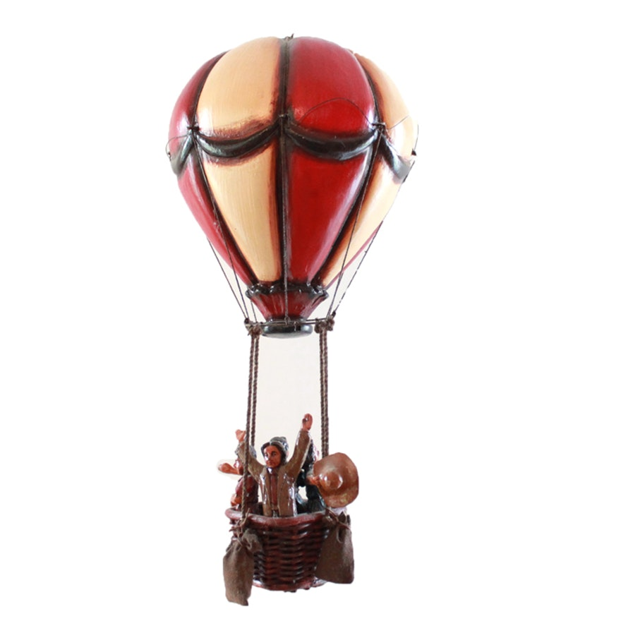 Vintage Hanging Hot Air Balloon