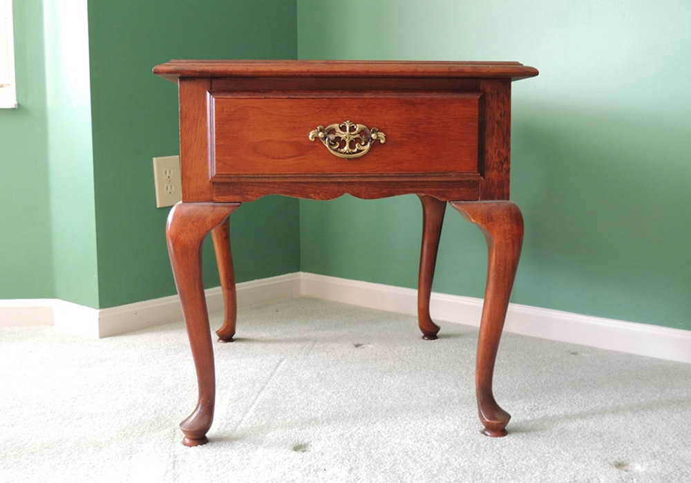 American Drew Queen Anne End Table ...