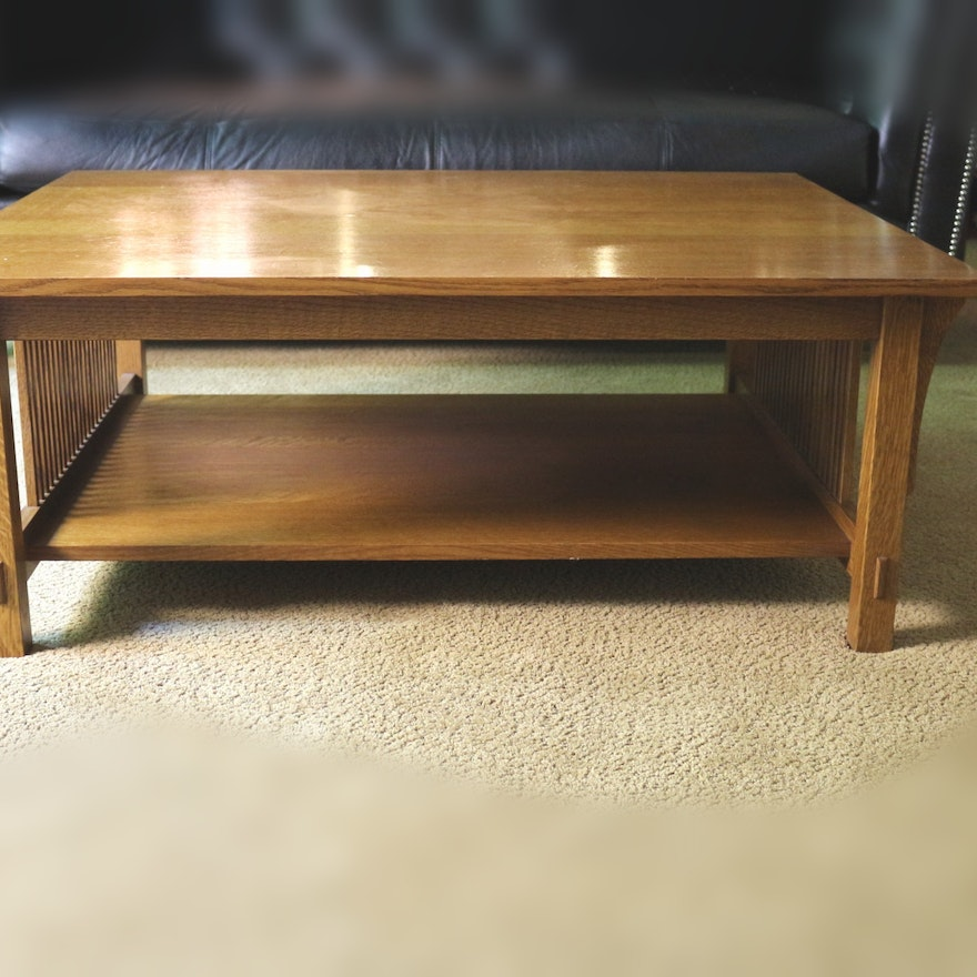 Strange Stickley Mission Oak Coffee Table Bralicious Painted Fabric Chair Ideas Braliciousco