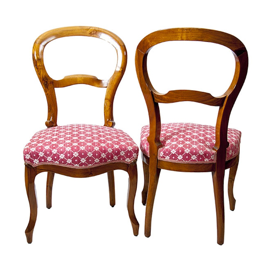 Louis Philippe Style Chairs