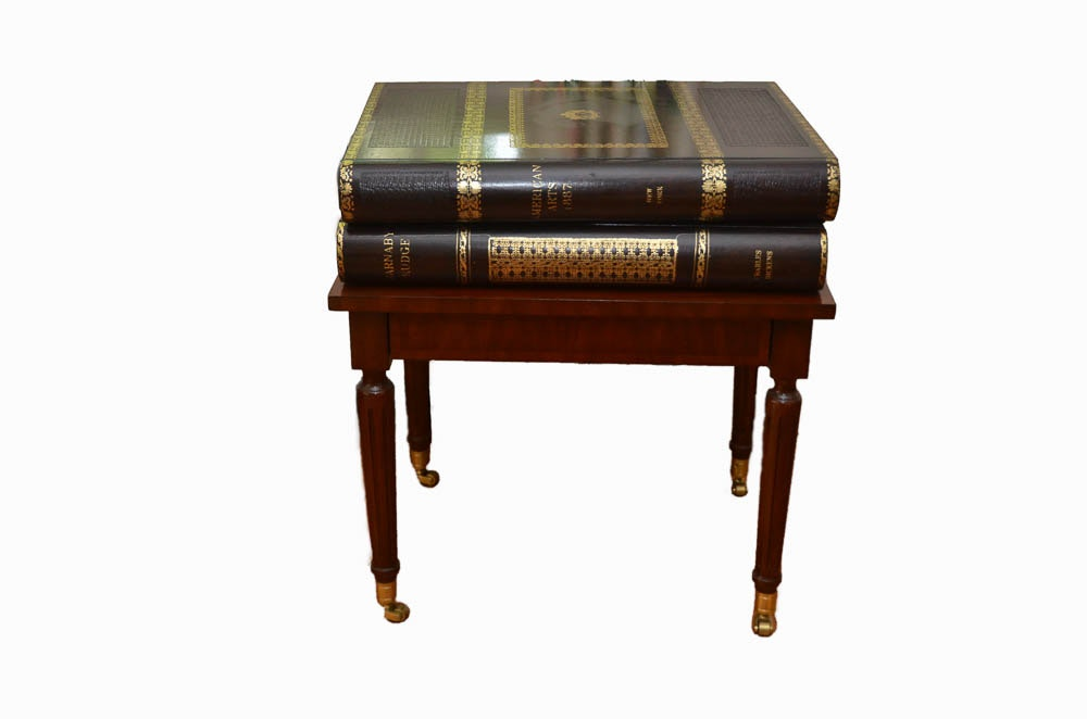 Perfect Maitland Smith Book Table ...