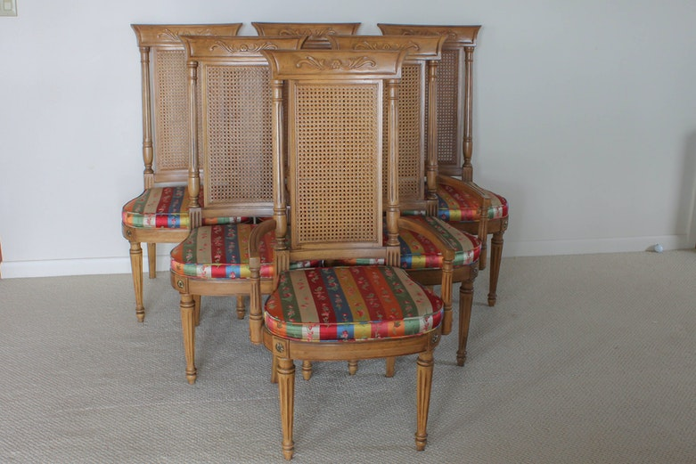 Set of Six Thomasville Villa Soleil Dining Chairs EBTH – Thomasville Dining Chairs