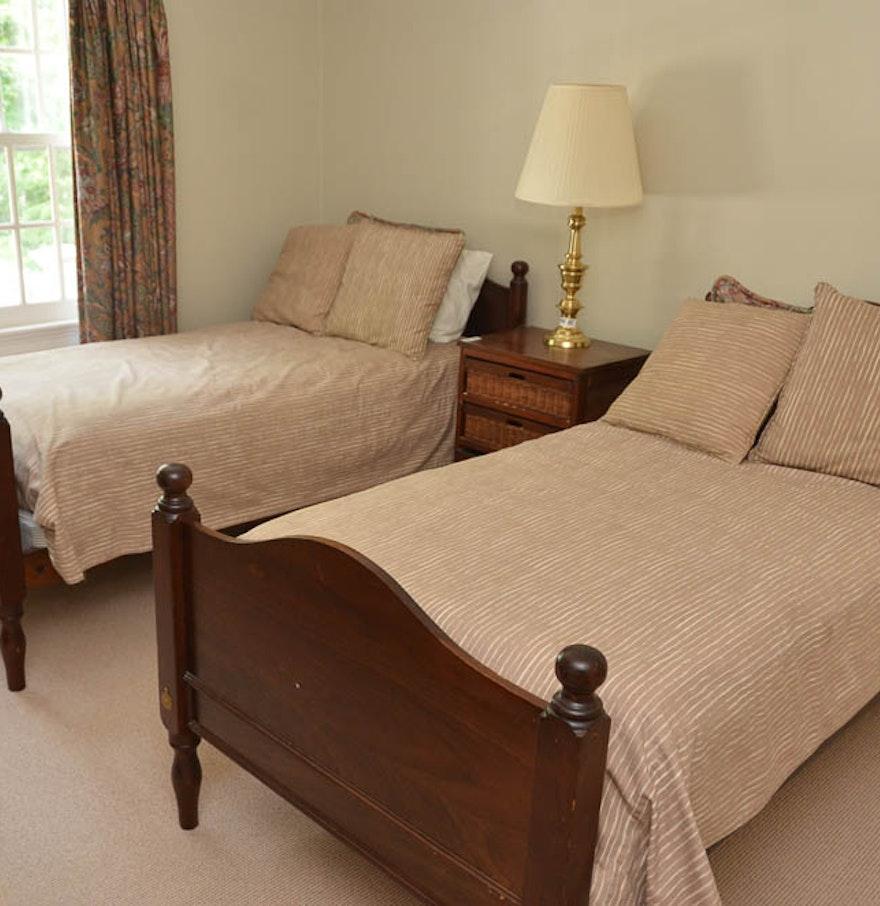 antique twin bed frames - Antique Twin Bed Frame
