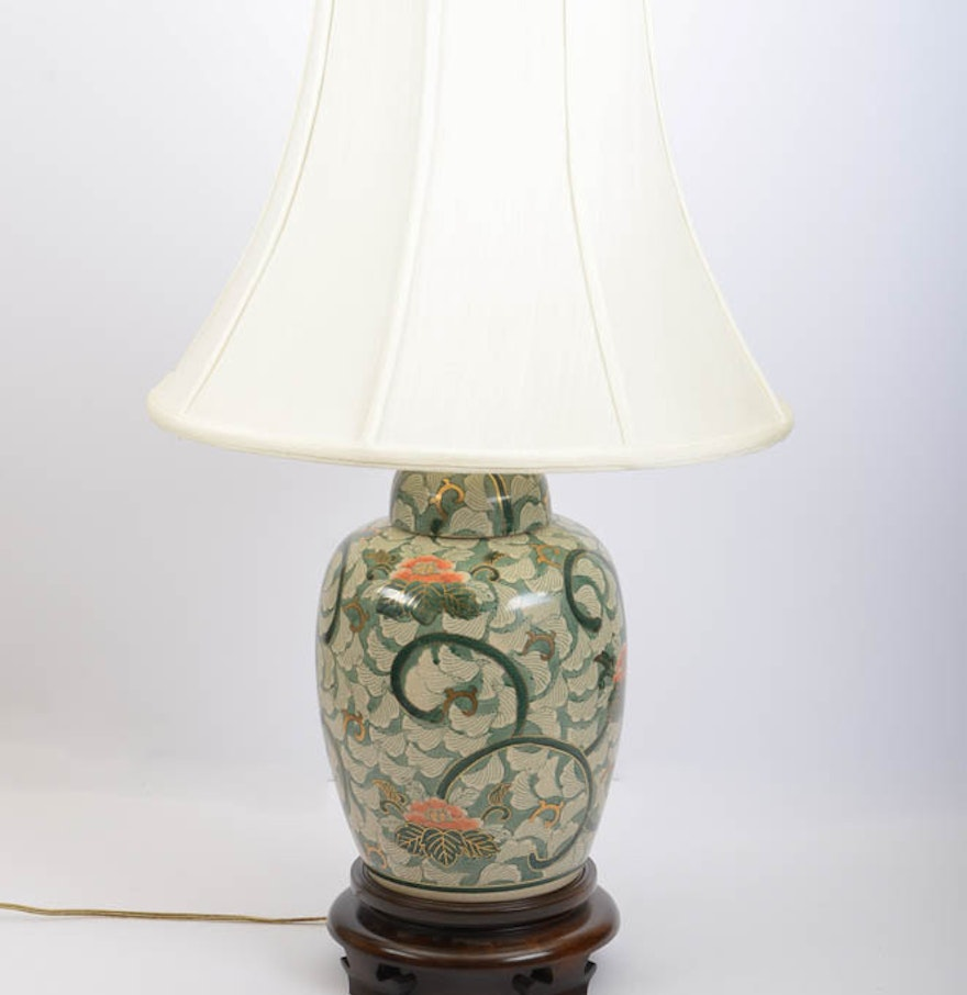 Frederick cooper water lily lamp ebth frederick cooper water lily lamp geotapseo Image collections