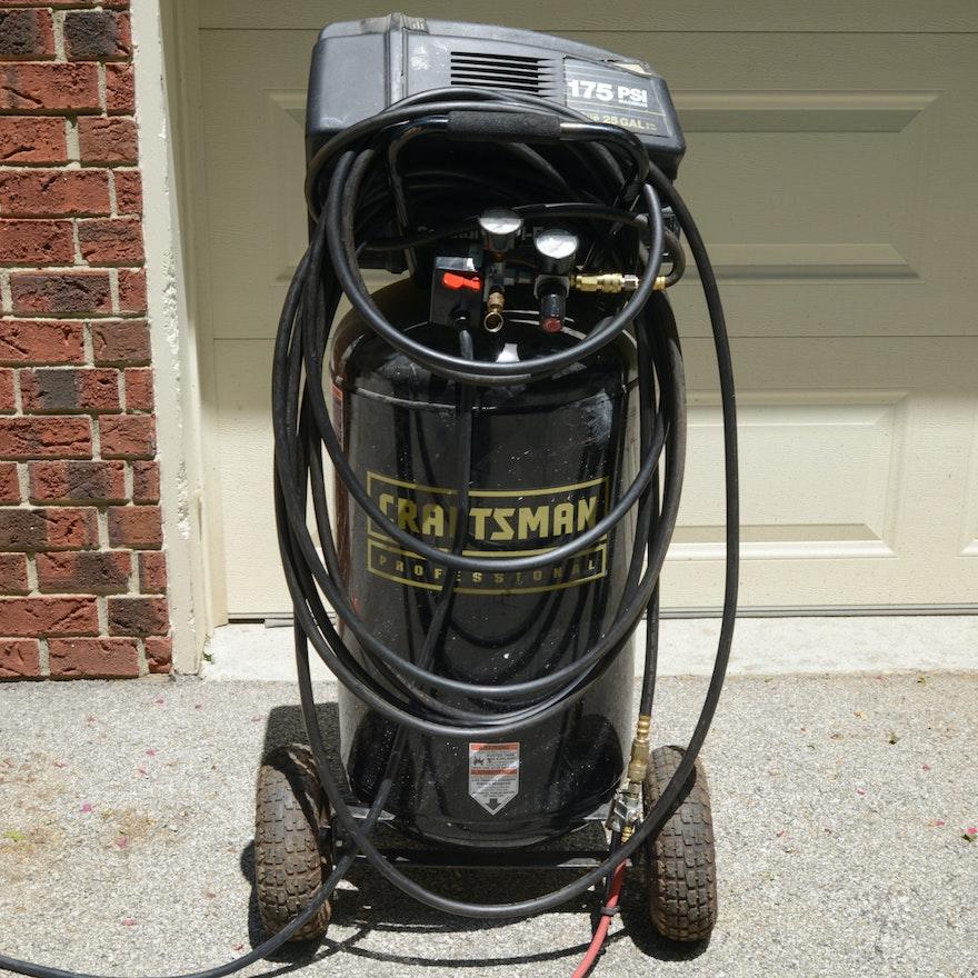 Craftsman Professional 25 Gallon Air Compressor Ebth
