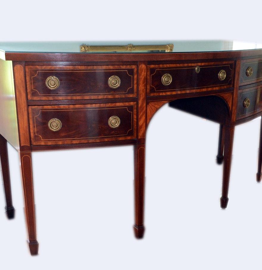 Baker Furniture Mahogany Hepplewhite Sideboard : EBTH