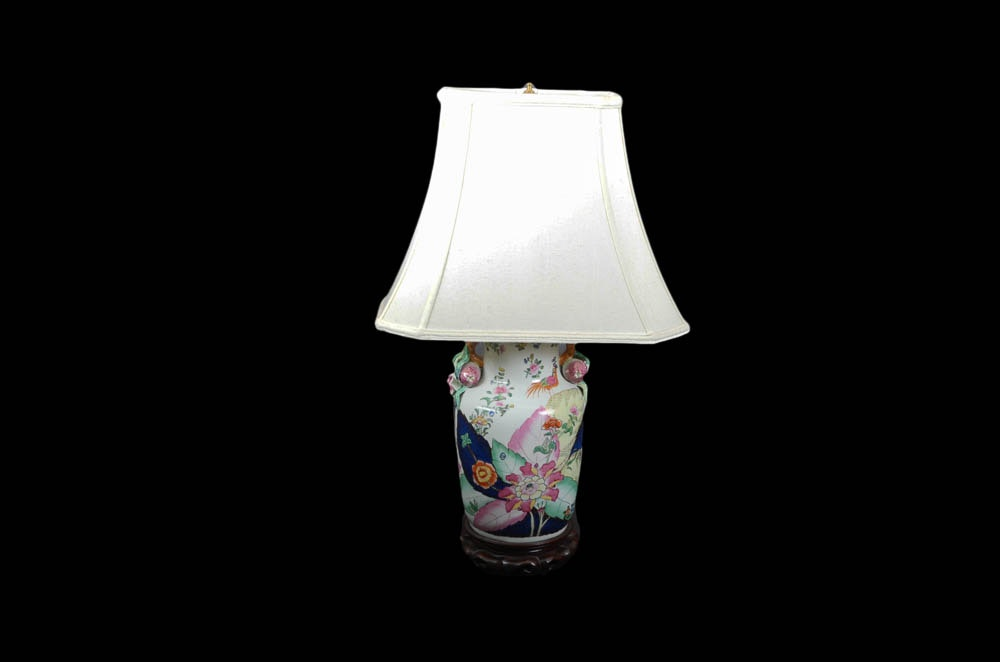 Asian Style Table Lamp ...