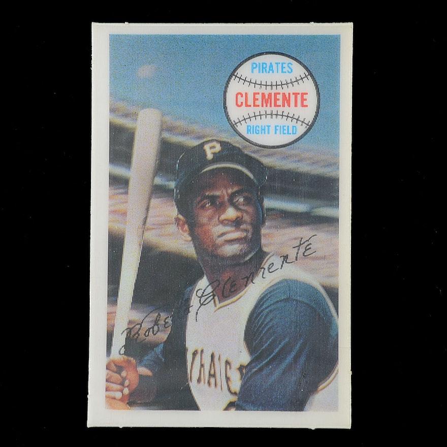 1970 Roberto Clemente Kellogg Card