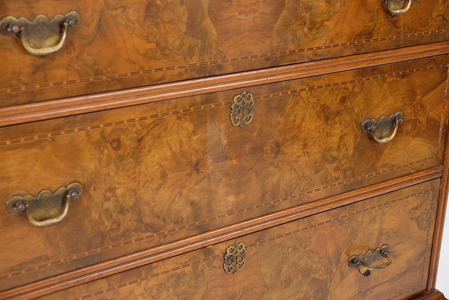 Hillenbrand William And Mary Chest Of Drawers Ebth