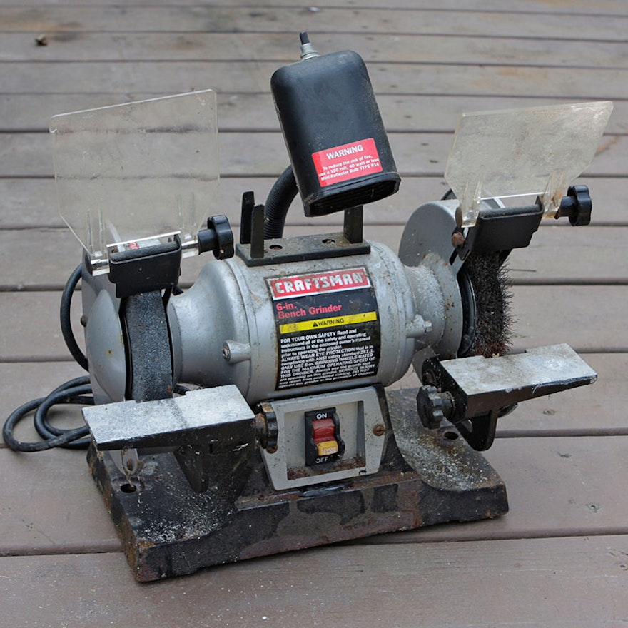 image craftsman grinder bench previous sears dpdir info manual full for tools inch