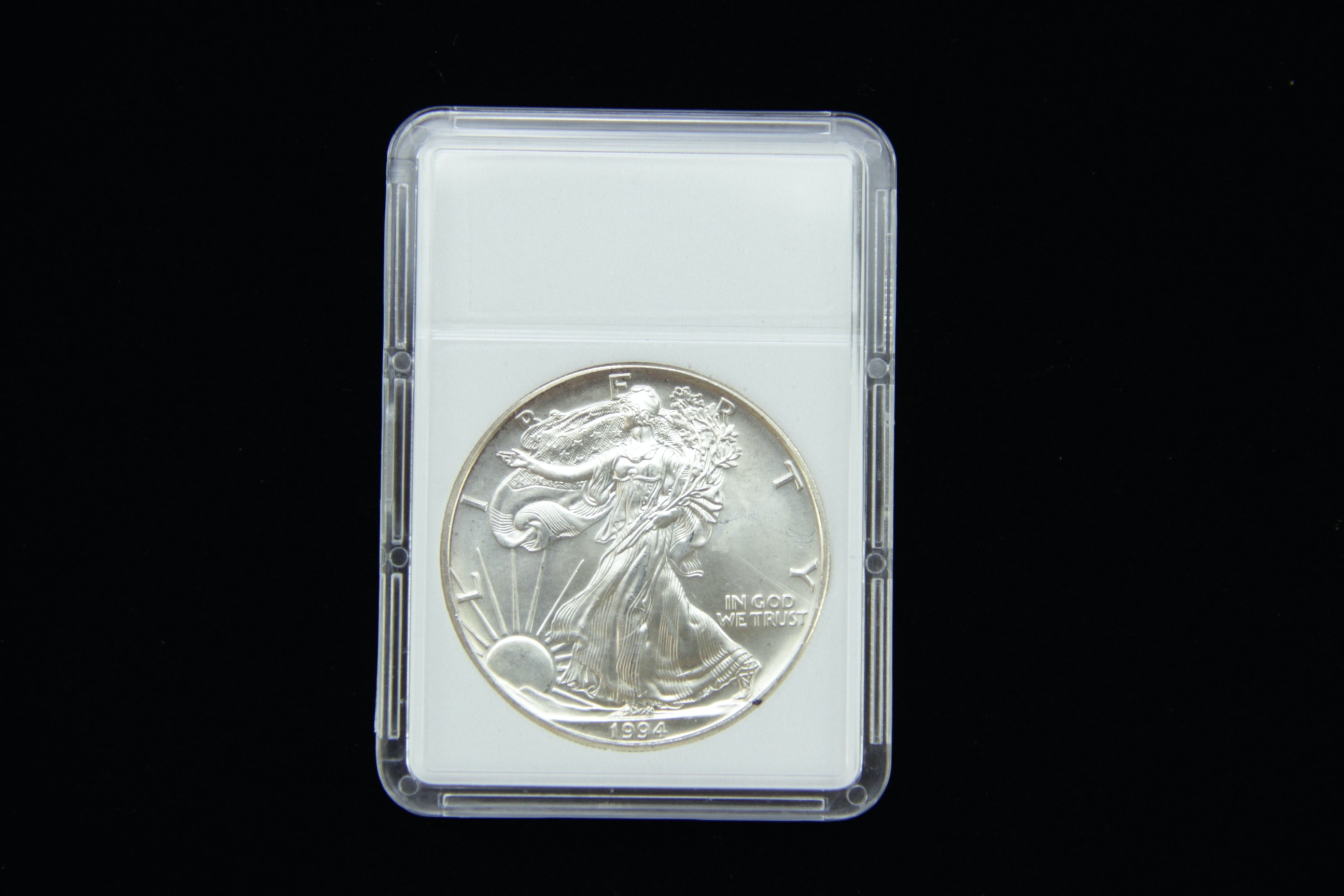 American Silver Eagle 1994 Bullion Coin Ebth