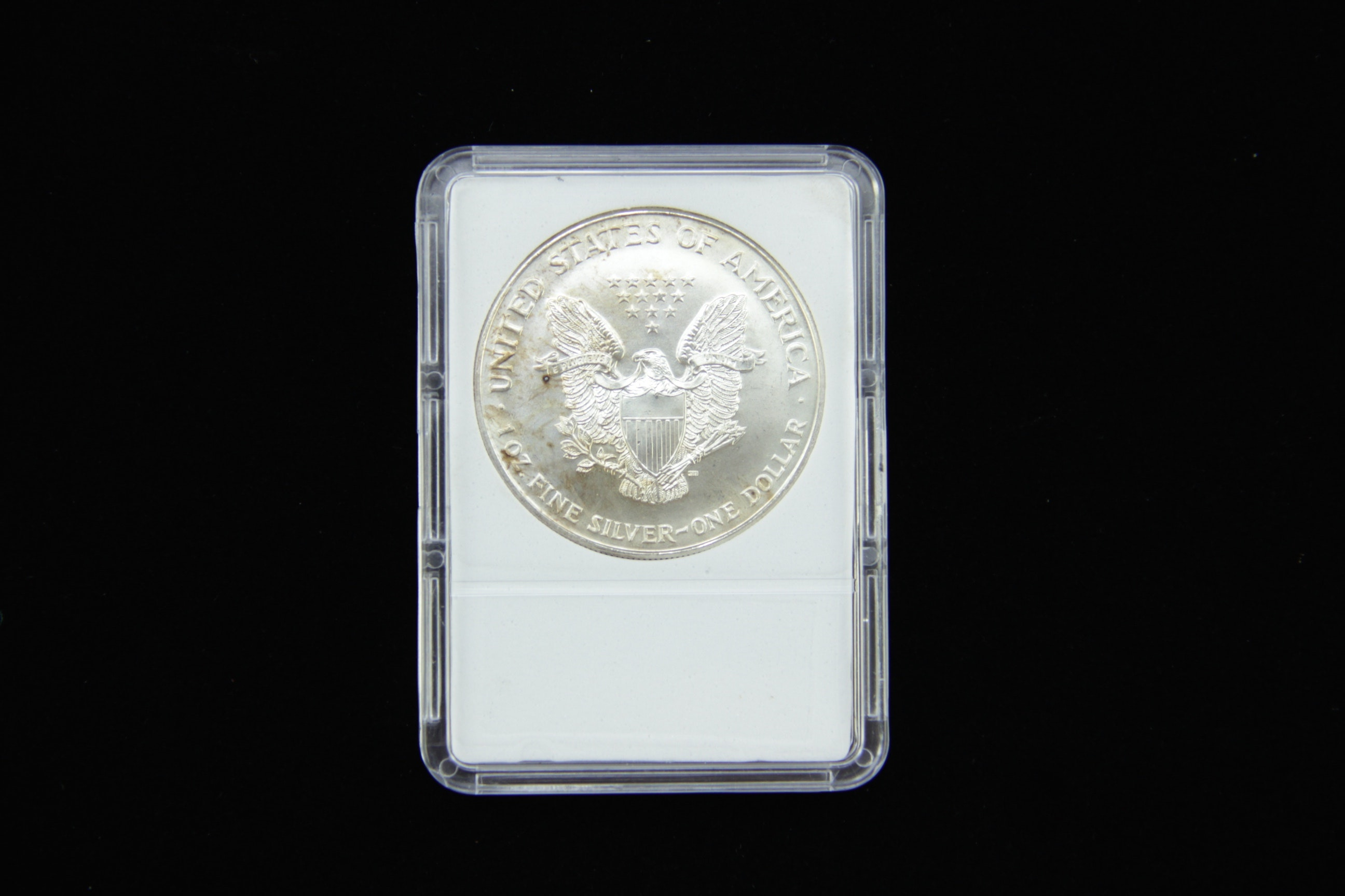 1 Troy Ounce American Silver Eagle Coin Value