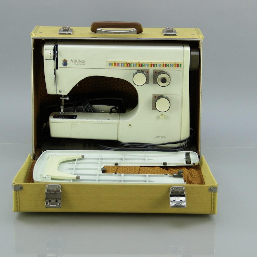 Vintage Viking Sewing Machine Model 40 EBTH Gorgeous Vintage Viking Sewing Machine
