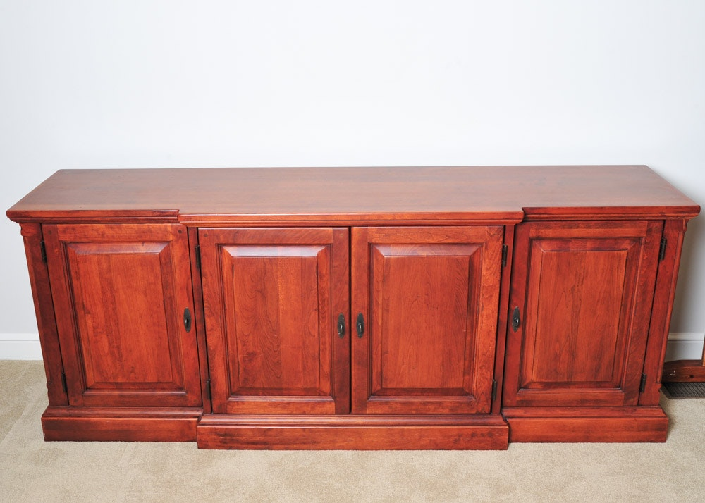 Bob Timberlake Cherry China Cabinet with Hutch : EBTH