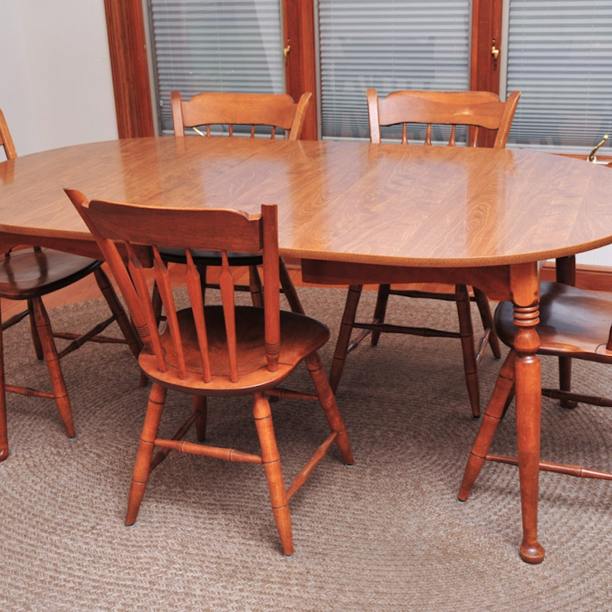 Ethan Allen Laminate Kitchen Table and Chairs