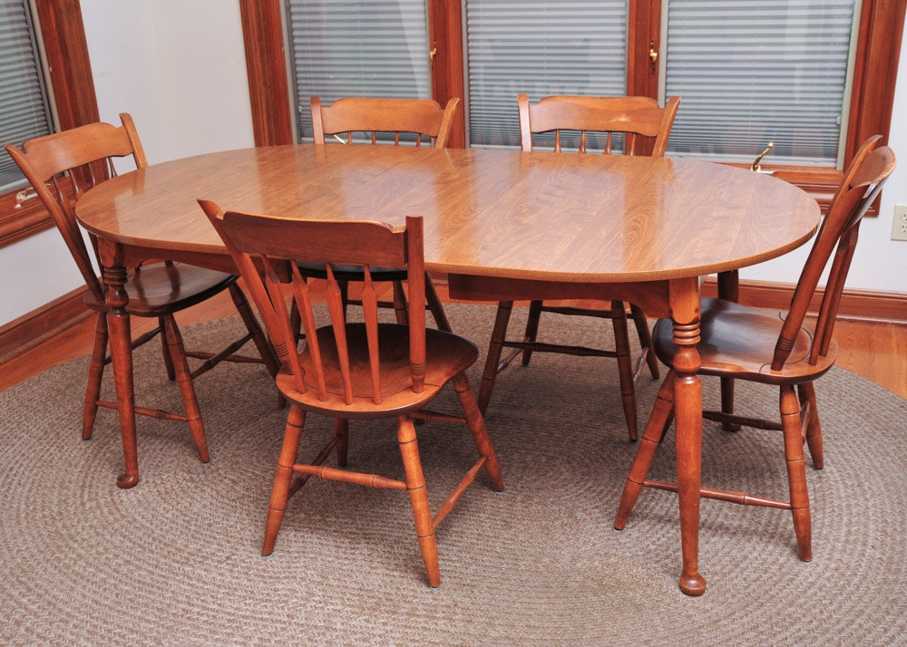 Ethan Allen Laminate Kitchen Table And Chairs ...