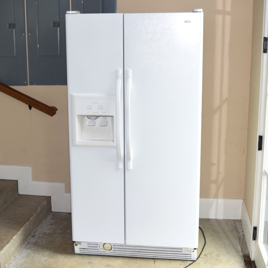 Kenmore French Door Refrigerator With Icemaker In White Ebth
