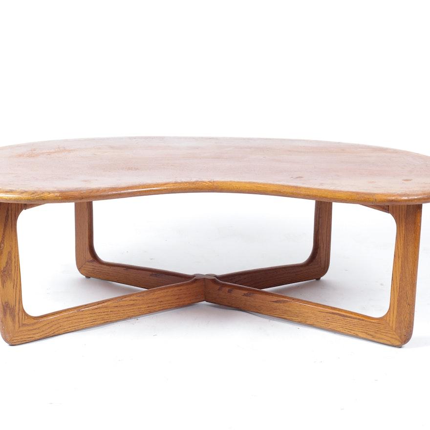Magnificent Lane Perception Kidney Shape Coffee Table Beatyapartments Chair Design Images Beatyapartmentscom