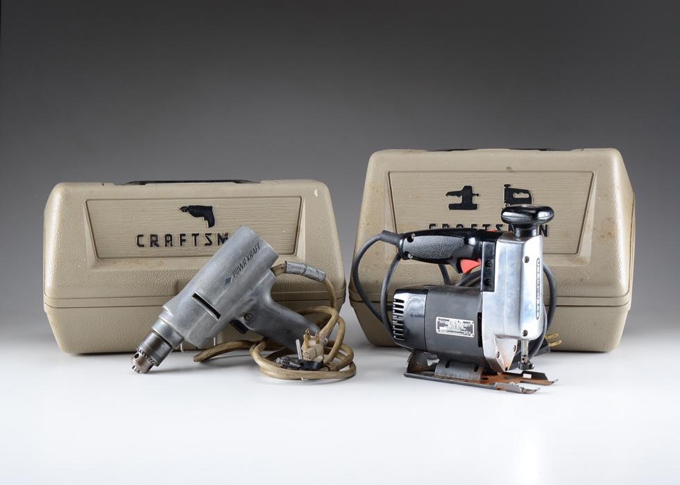 craftsman power tools. vintage craftsman power tools