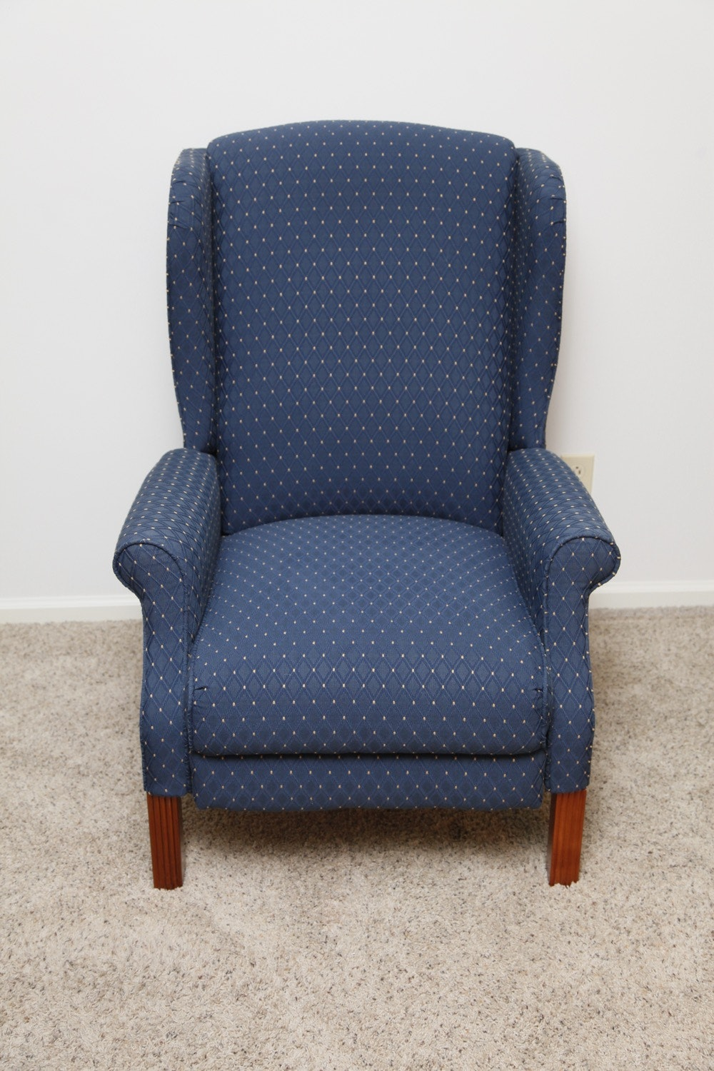 Lazy Boy Wingback Recliner Pair Ebth