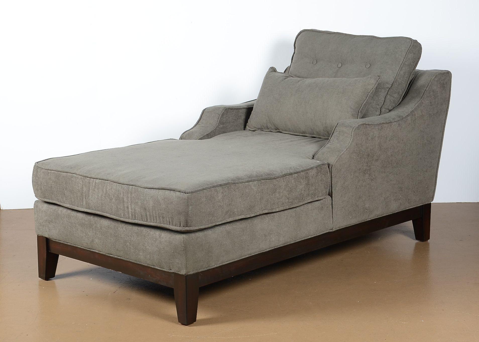 Microfiber Chaise Lounge ...