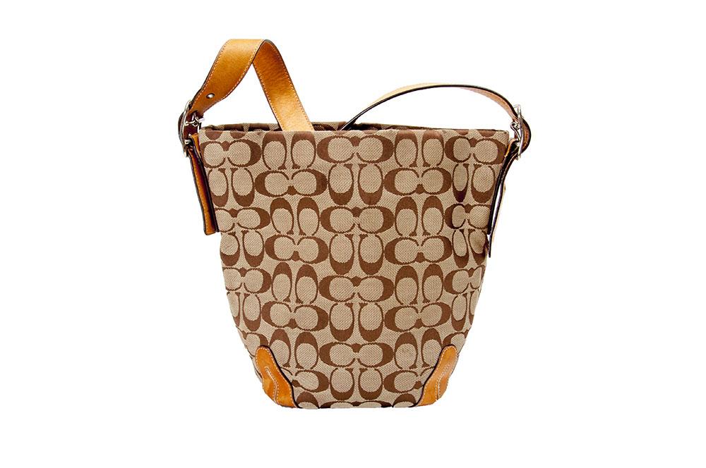 9a2e54a2a1d8 ... 50% off coach signature print bucket bag a1616 4c4bd