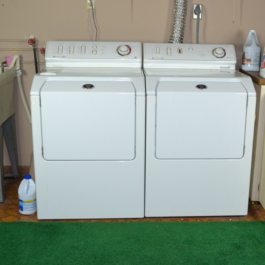 1999 Maytag Neptune Washer & Electric Dryer