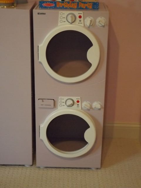 Wooden Play Refrigerator And Washer And Dryer By Martha
