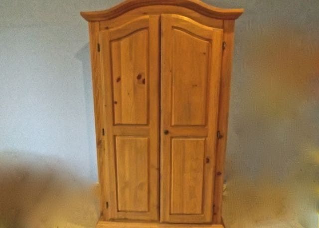 Knotty Pine Armoire ...