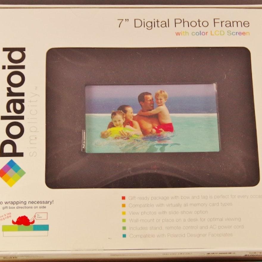 Polaroid Simplicity Digital Photo Frame Ebth