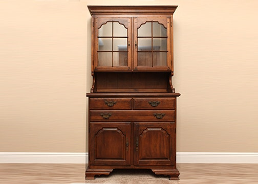 Temple Stuart Maple China Hutch ...