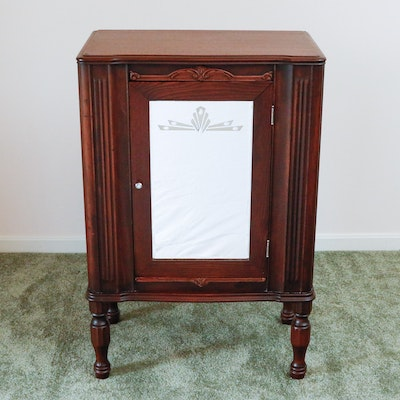 Antique Parlour or Music Cabinet - Vintage And Antique Cabinets Auction In Erlanger, Kentucky Personal