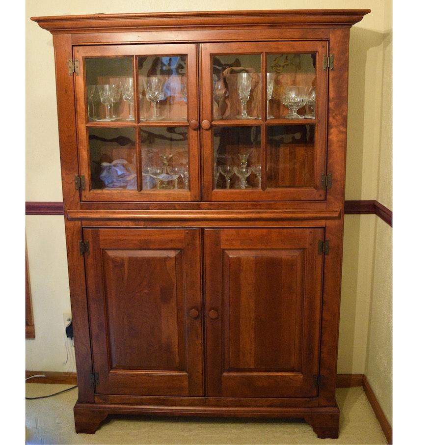 Wooden China Cabinet ~ Bob timberlake wooden china cabinet ebth