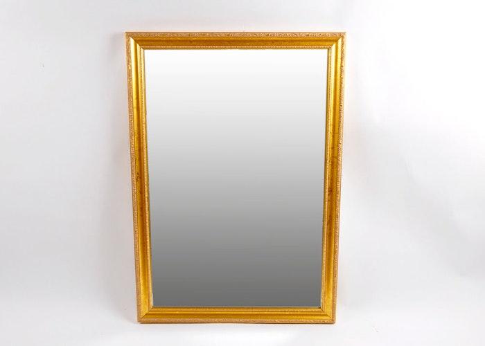 Beveled mirror by carolina mirror company ebth for Mirror 34 productions