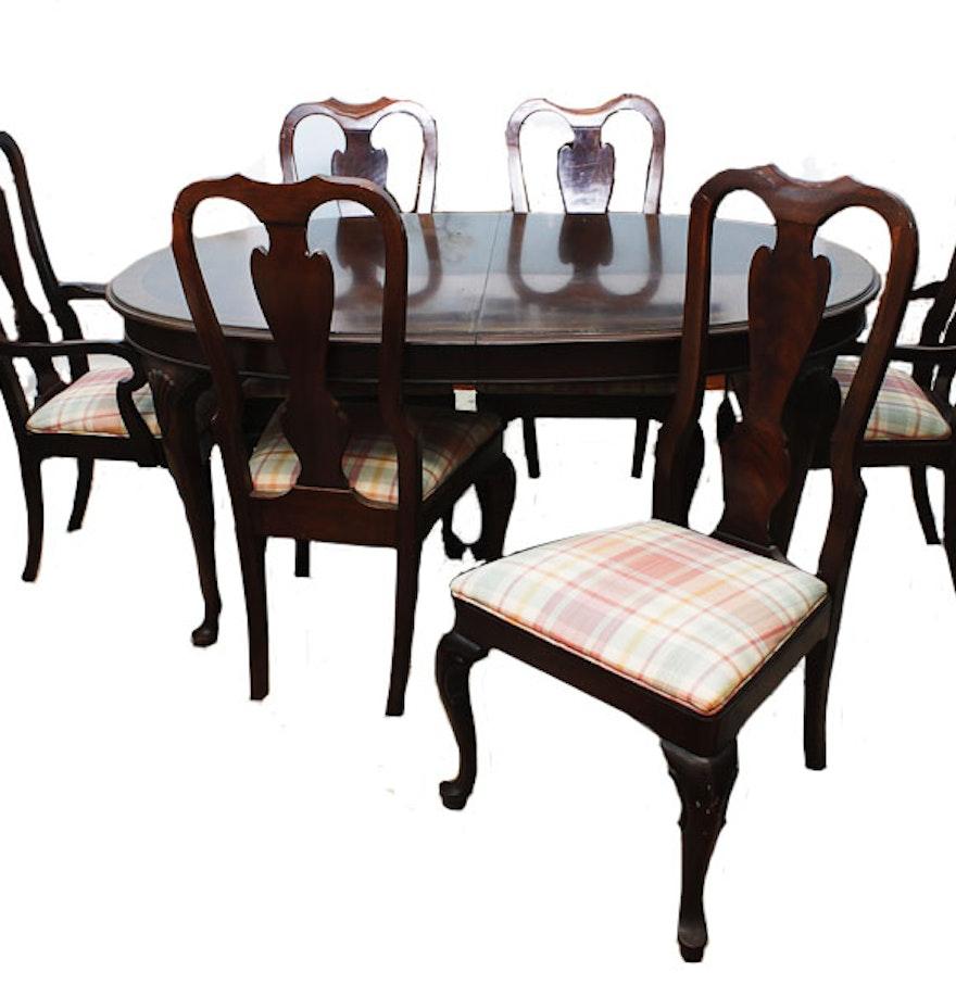 Drexel heritage 18th century classic dining table ebth for Classic dining table