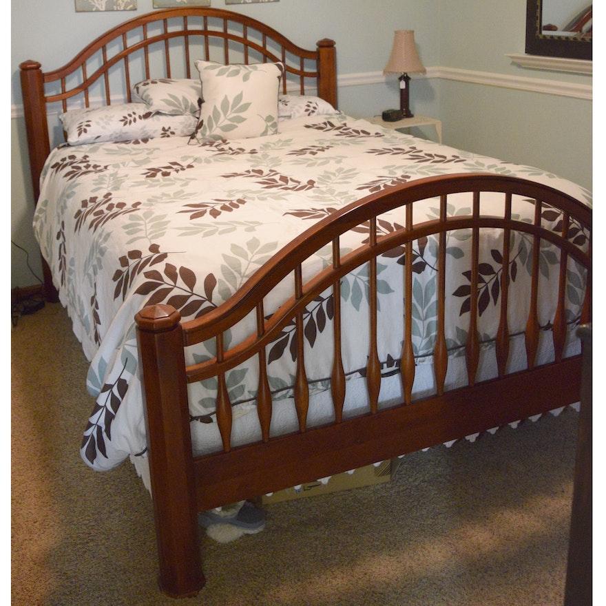 Bob Timberlake Queen Size Bed Frame Ebth