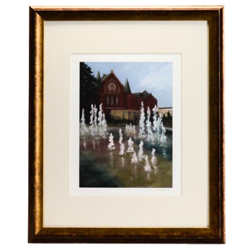 "Hannah Beck ""Dance of the Fountains"" Giclée Print"